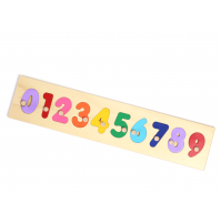 Wooden Puzzle - Numbers Educational Puzzles